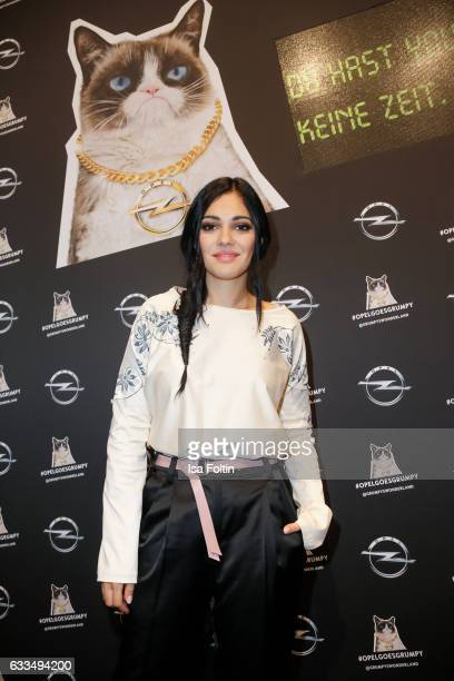 Actress and Video Blogger Nilam Farooq attends the Presentation of the new Opel Calender 2017 at Kraftwerk Mitte on February 1 2017 in Berlin Germany