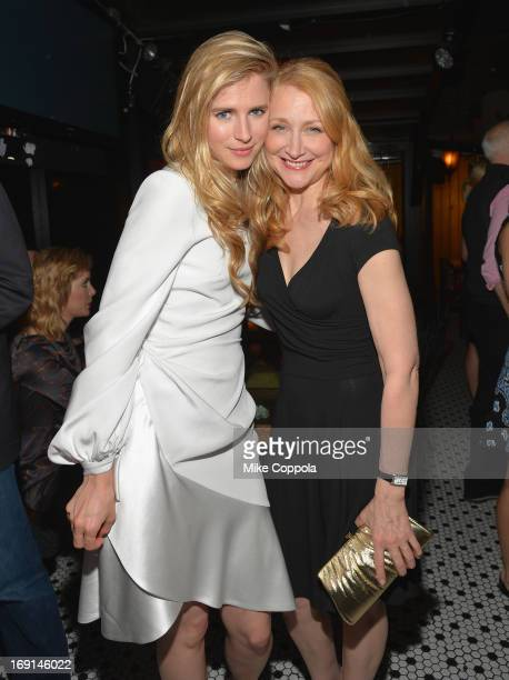 Actress and Writer Brit Marling and Actress Patricia Clarkson attend the after party of the New York Premiere of 'The East' at Hotel Chantelle on May...
