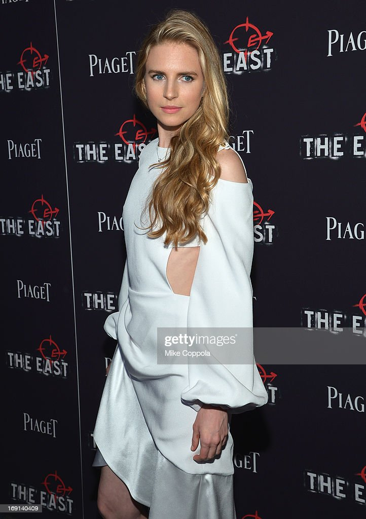 Actress and Writer Brit Marling attends the New York premiere of 'The East' at Sunshine Landmark on May 20, 2013 in New York City.