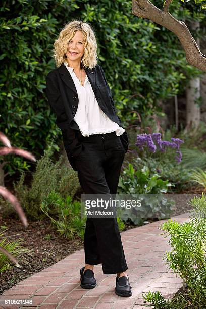 Actress and writer Meg Ryan is photographed for Los Angeles Times on September 12 2016 in Los Angeles California PUBLISHED IMAGE CREDIT MUST READ Mel...