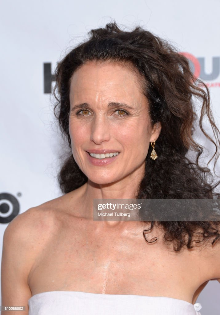 Actress Andie MacDowell attends a screening of 'KEVYN