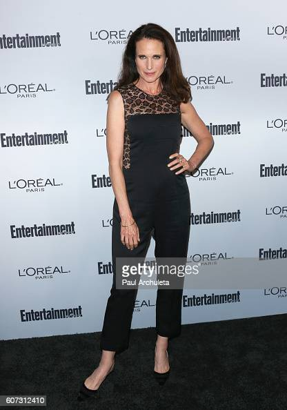 Actress Andie MacDowell attends Entertainment Weekly's 2016 PreEmmy party at Nightingale Plaza on September 16 2016 in Los Angeles California