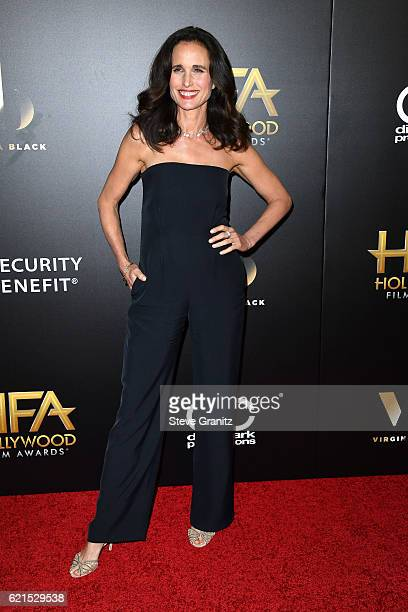 Actress Andie MacDowell attends the 20th Annual Hollywood Film Awards on November 6 2016 in Los Angeles California