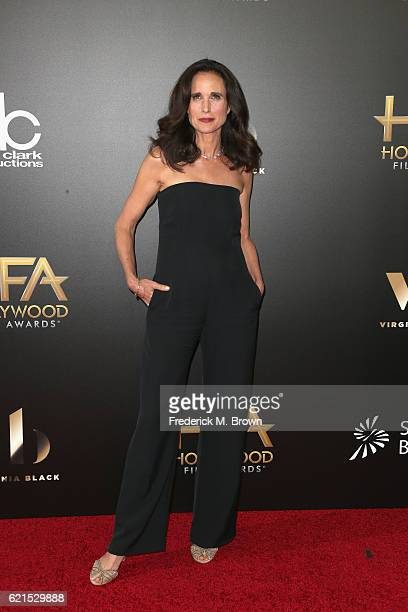 Actress Andie MacDowell attends the 20th Annual Hollywood Film Awards on November 6 2016 in Beverly Hills California