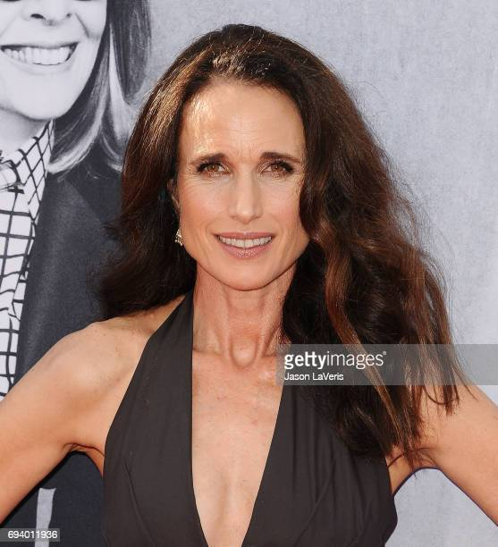 Actress Andie MacDowell attends the AFI Life Achievement Award gala at Dolby Theatre on June 8 2017 in Hollywood California