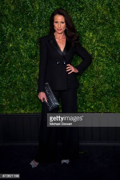 Actress Andie MacDowell attends the Chanel Artists Dinner during the 2017 Tribeca Film Festival on April 24 2017 in New York City