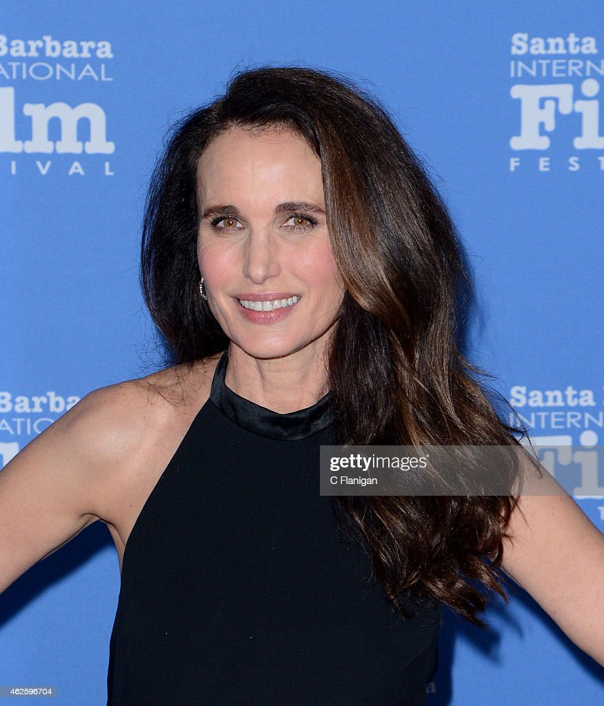 Actress Andie MacDowell attends the Modern Master Award Ceremony during the 30th Annual Santa Barbara International Film Festival at Arlington...