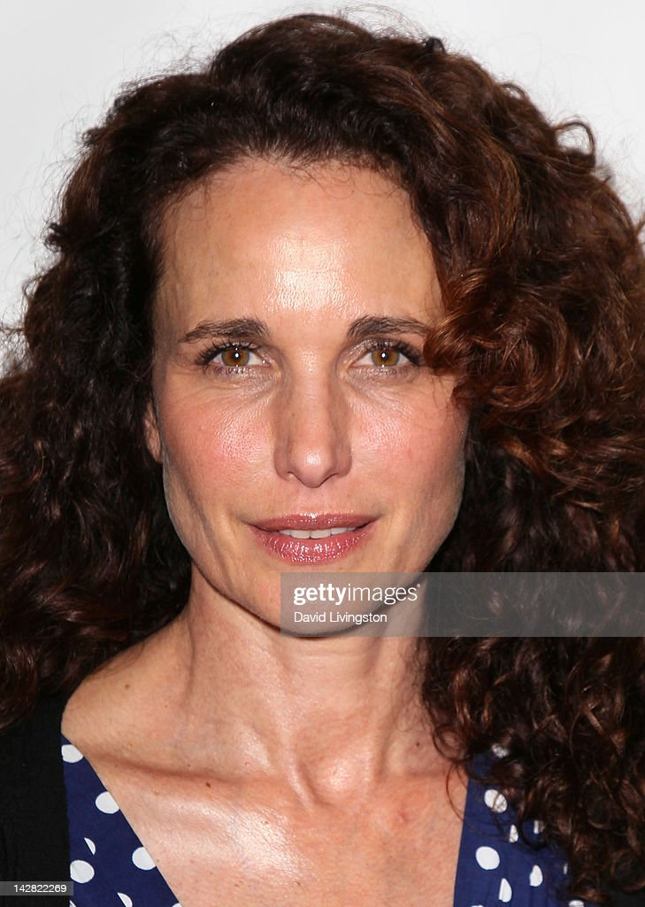Actress <a gi-track='captionPersonalityLinkClicked' href=/galleries/search?phrase=Andie+MacDowell&family=editorial&specificpeople=204572 ng-click='$event.stopPropagation()'>Andie MacDowell</a> attends the opening night of 'Billy Elliot' at the Pantages Theatre on April 12, 2012 in Hollywood, California.