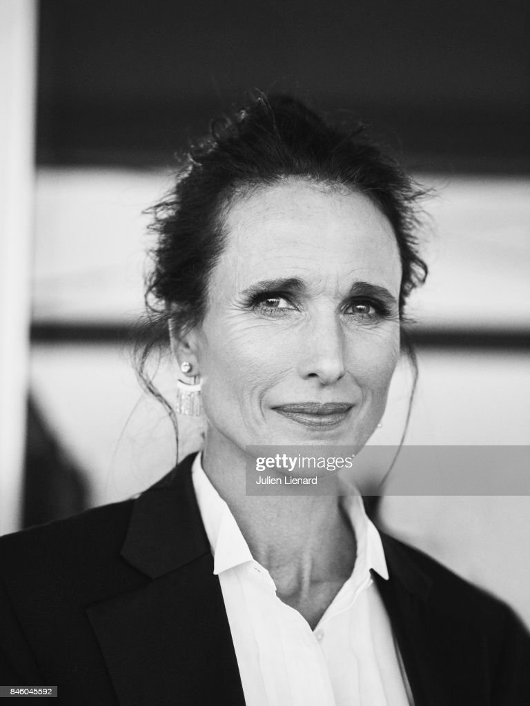 Actress Andie MacDowell is photographed for Self Assignment on May 21, 2017 in Cannes, France.