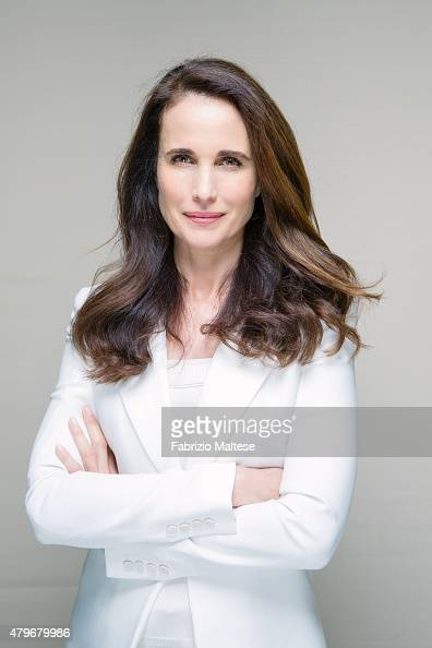 Actress Andie MacDowell is photographed for The Hollywood Reporter on May 15 2015 in Cannes France **NO SALES IN USA TILL AUGUST 28 2015**
