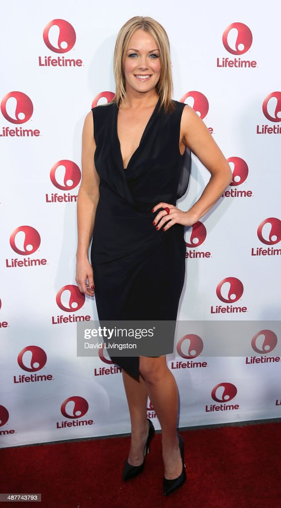 Actress <a gi-track='captionPersonalityLinkClicked' href=/galleries/search?phrase=Andrea+Anders&family=editorial&specificpeople=633113 ng-click='$event.stopPropagation()'>Andrea Anders</a> attends the premiere of Lifetime Television's 'Return to Zero' at the Paramount Theater on the Paramount Studios lot on May 1, 2014 in Hollywood, California.