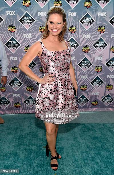 Actress Andrea Barber attends Teen Choice Awards 2016 at The Forum on July 31 2016 in Inglewood California