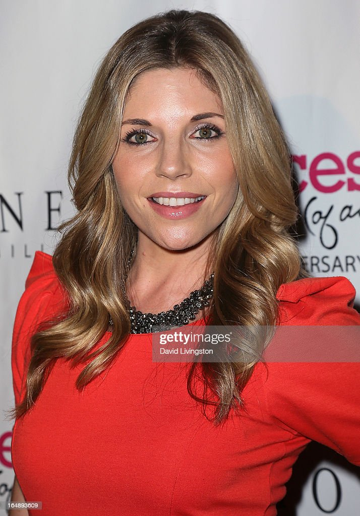 Actress Andrea Bogart attends the 'Pieces (of Ass)' opening night Los Angeles performance at The Fonda Theatre on March 28, 2013 in Los Angeles, California.