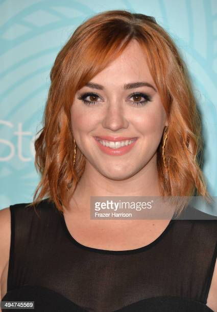 Actress Andrea Bowen arrives at the Step Up 11th Annual Inspiration Awards at The Beverly Hilton Hotel on May 30 2014 in Beverly Hills California