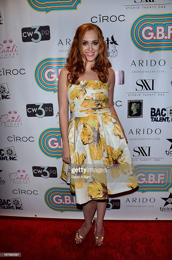 Actress Andrea Bowen attends the screening of 'G.B.F.' during the 2013 Tribeca Film Festival at Studio XXI on April 19, 2013 in New York City.