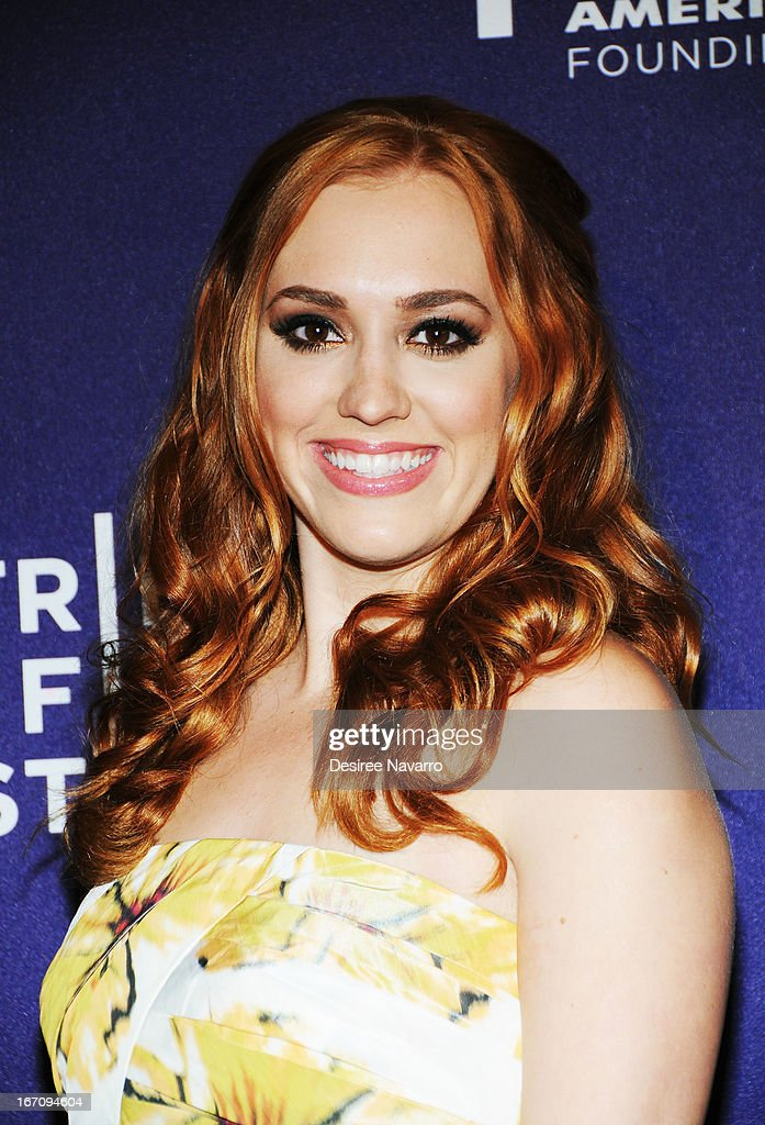 Actress Andrea Bowen attends the screening of 'G.B.F.' during the 2013 Tribeca Film Festival at Chelsea Clearview Cinemas on April 19, 2013 in New York City.