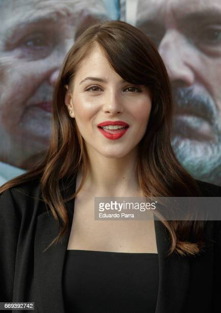 Actress Andrea Duro attends the 'Pasaja al amanecer' photocall at Alma Club on April 17 2017 in Madrid Spain