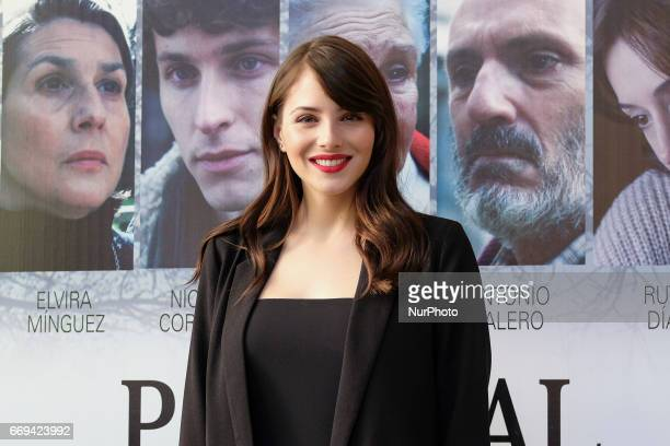 Actress Andrea Duro attends the presentation of the movie 'Passage to the dawn' in Madrid April 17 2017