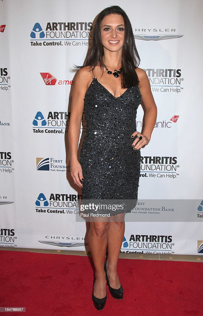 Actress Andrea Gabriel attends The Arthritis Foundation's Annual Gala Honoring Danny Glover at The Beverly Hilton Hotel on October 25, 2012 in Beverly Hills, California.