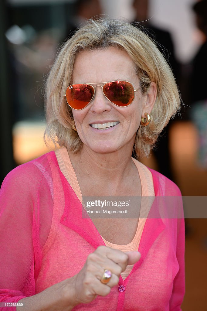 Actress Andrea L'Arronge attends the ZDF Reception during the Munich Film Festival 2013 at H'ugo's on July 2, 2013 in Munich, Germany.