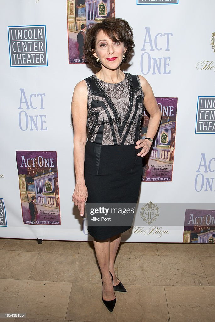 Actress Andrea Martin attends the opening night party for 'Act One' at The Plaza Hotel on April 17, 2014 in New York City.
