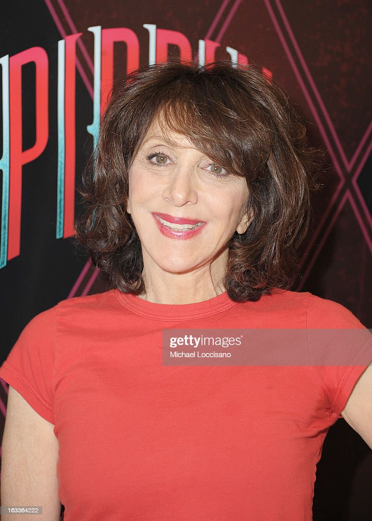 Actress Andrea Martin attends the 'Pippin' Broadway Open Press Rehearsal at Manhattan Movement & Arts Center on March 8, 2013 in New York City.