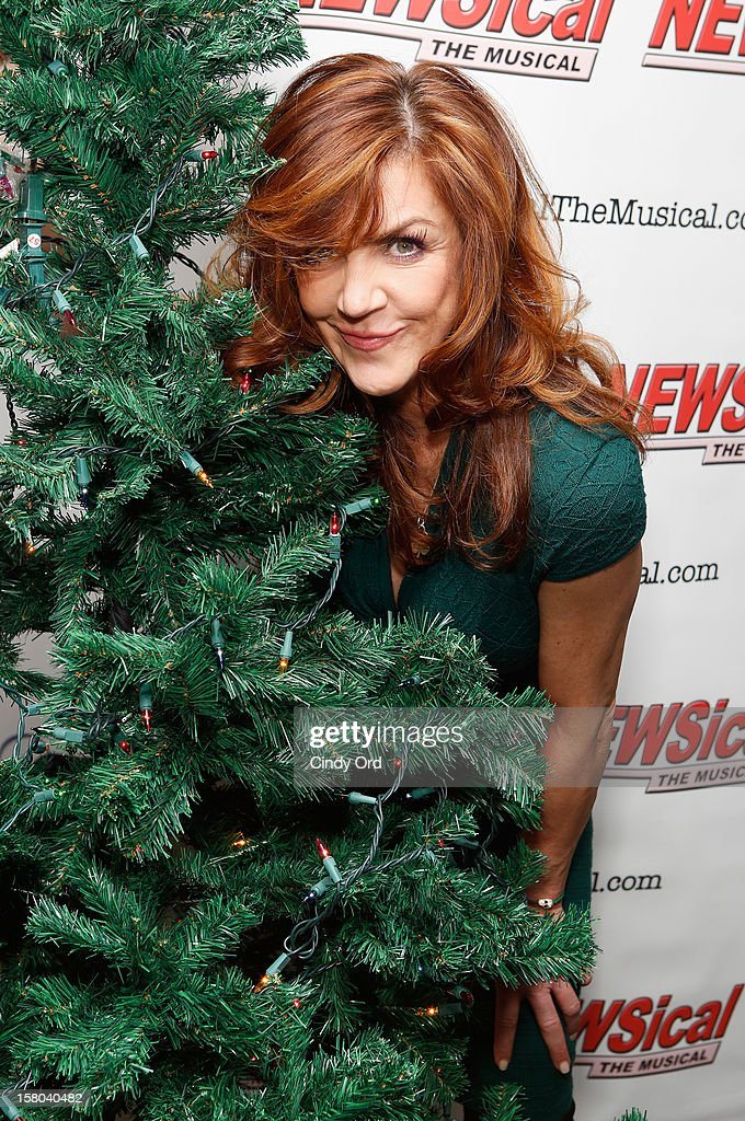 Actress Andrea McArdle attends Cheri Oteri's debut in 'Newsical The Musical' on December 9, 2012 in New York City.