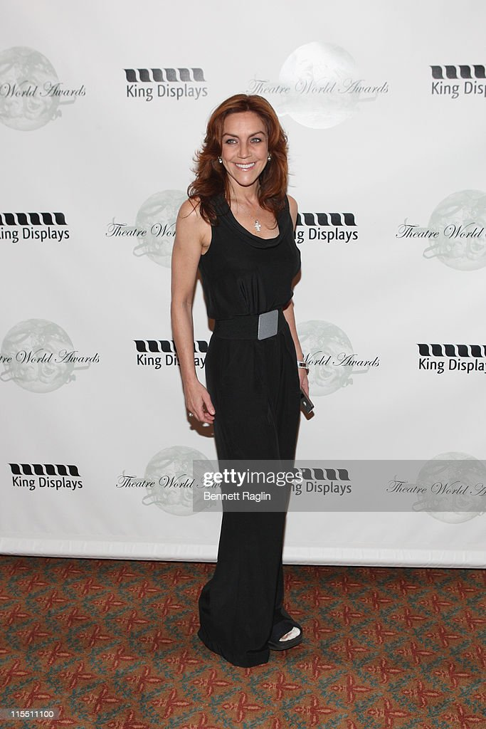 Actress Andrea McArdle attends the 67th annual Theatre World Awards Ceremony at the August Wilson Theatre on June 7, 2011 in New York City.