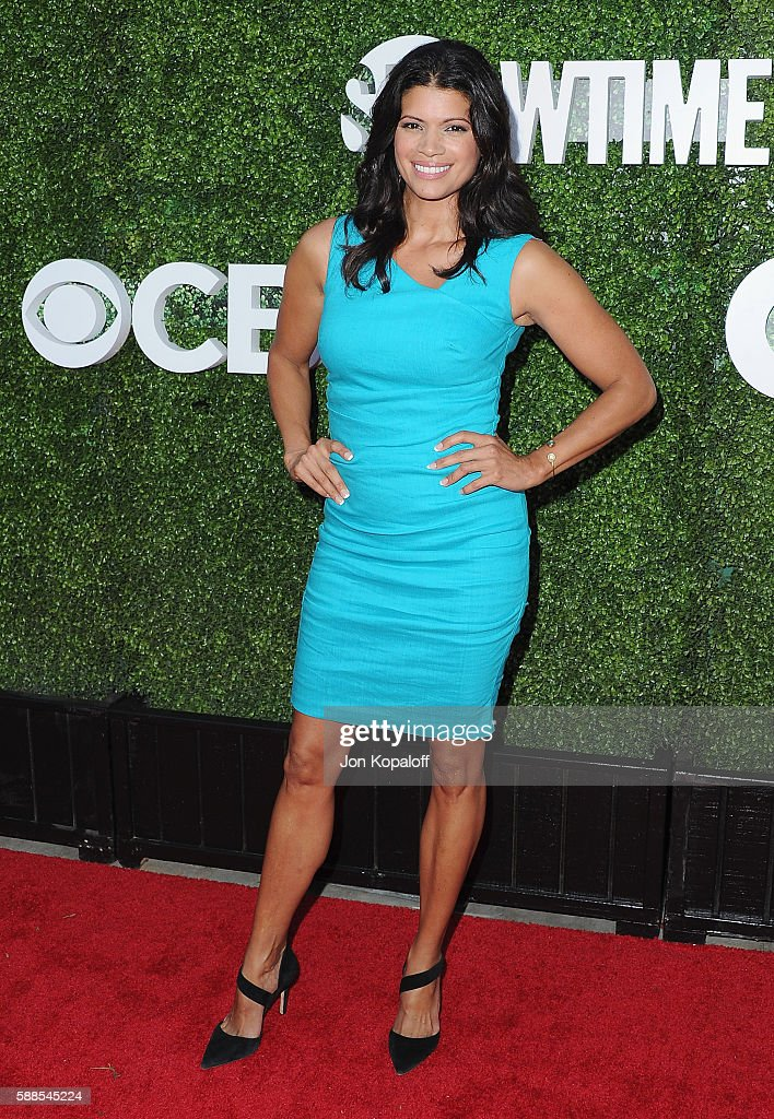 Actress Andrea Navedo arrives at CBS, CW, Showtime Summer TCA Party at Pacific Design Center on August 10, 2016 in West Hollywood, California.