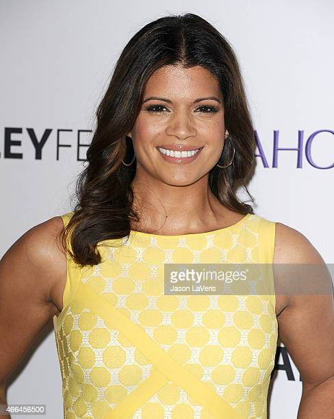 Actress Andrea Navedo attends the 'Jane The Virgin' event at the 32nd annual PaleyFest at Dolby Theatre on March 15 2015 in Hollywood California
