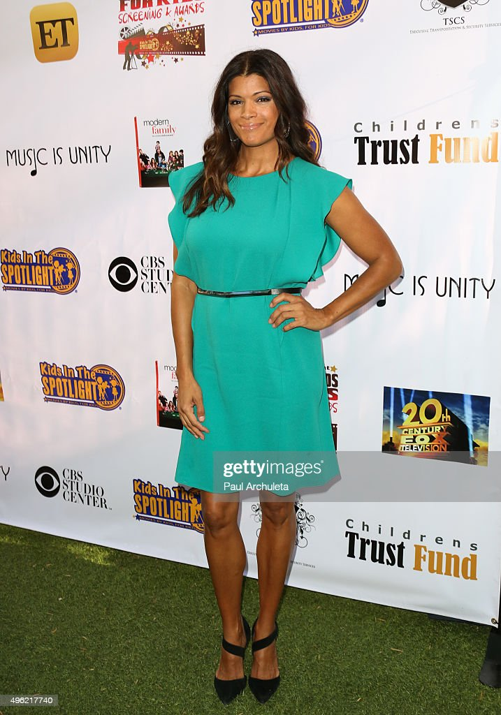 Actress Andrea Navedo attends the Kids In The Spotlight's Movies By Kids, For Kids Film Awards at Fox Studios on November 7, 2015 in Los Angeles, California.