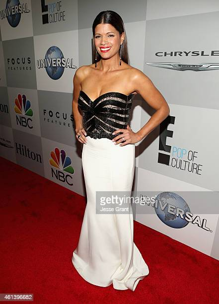 Actress Andrea Navedo attends Universal NBC Focus Features and E Entertainment 2015 Golden Globe Awards After Party sponsored by Chrysler and Hilton...