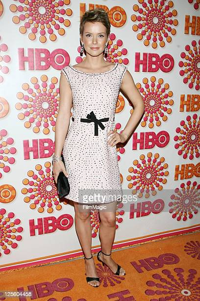 Actress Andrea Osvart attends HBO's Official Emmy After Party at The Plaza at the Pacific Design Center on September 18 2011 in Los Angeles California