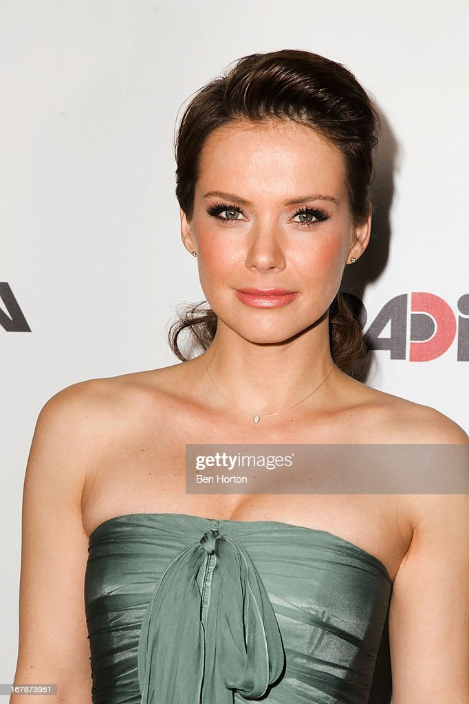 Actress Andrea Osvart attends the premiere of 'Aftershock' at Mann Chinese 6 on May 1 2013 in Los Angeles California