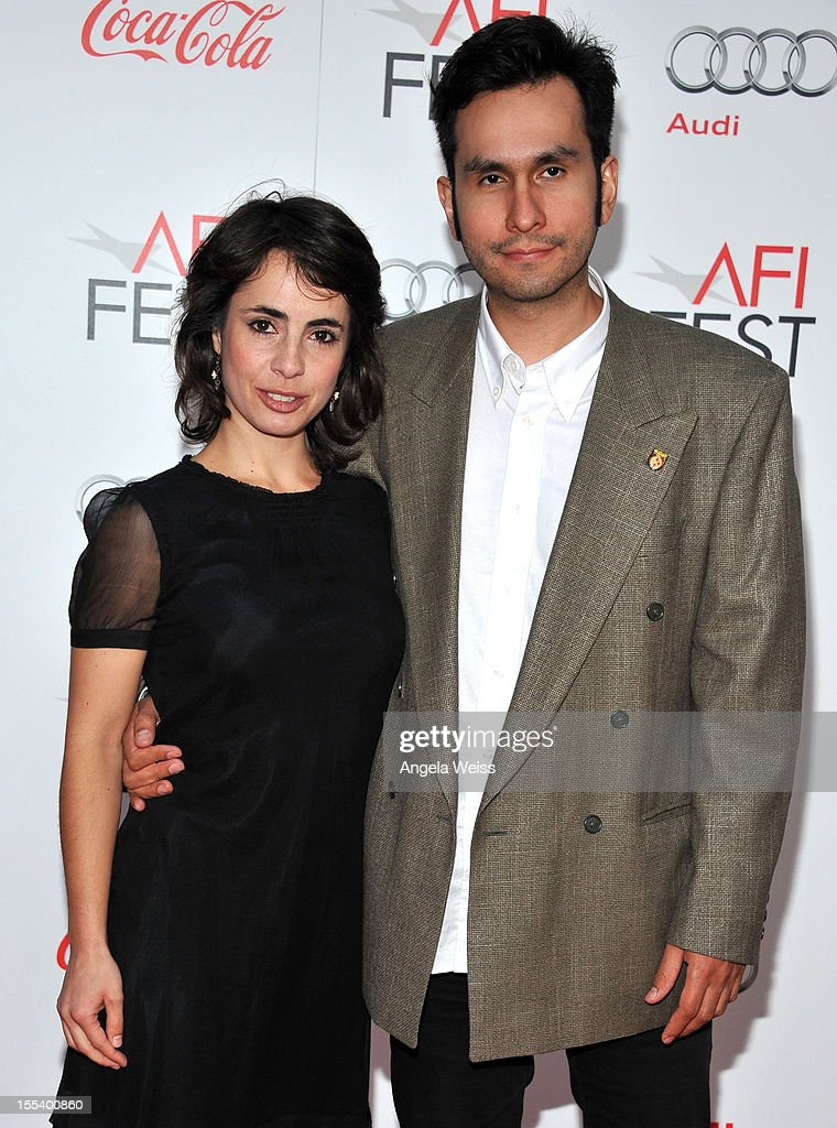 Actress Andrea Portal and director Raul Fuentes arrive at the 'Life Of Pi' premiere during AFI Fest 2012 presented by Audi at Grauman's Chinese Theatre on November 2, 2012 in Hollywood, California.