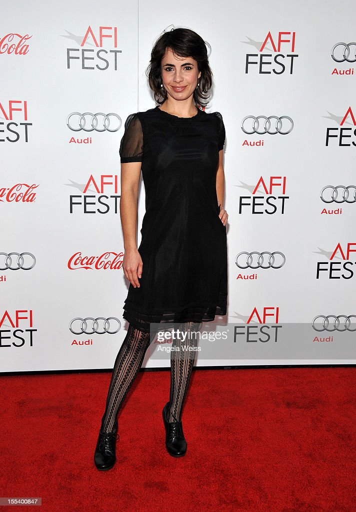 Actress Andrea Portal arrives at the 'Life Of Pi' premiere during AFI Fest 2012 presented by Audi at Grauman's Chinese Theatre on November 2, 2012 in Hollywood, California.