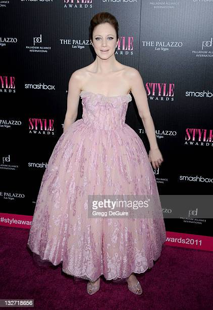 Actress Andrea Riseborough arrives at the 2011 Hollywood Style Awards at Smashbox West Hollywood on November 13 2011 in West Hollywood California