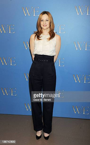 Actress Andrea Riseborough attends a photocall to promote the new film 'WE' at the London Studios on January 11 2012 in London United Kingdom