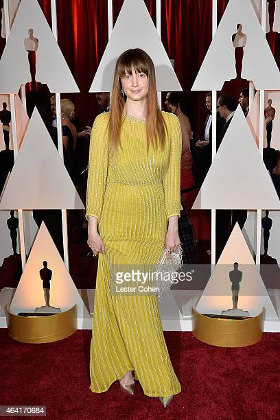 Actress Andrea Riseborough attends the 87th Annual Academy Awards at Hollywood Highland Center on February 22 2015 in Hollywood California
