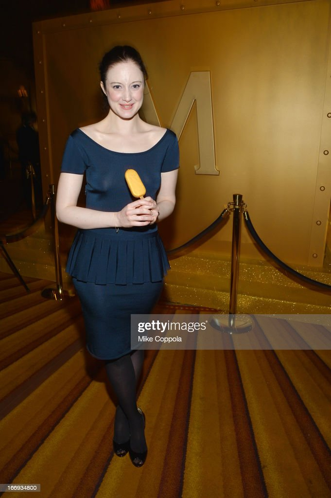 Actress Andrea Riseborough attends the 'As Good As Gold' MAGNUM Gold?! Film Premiere on April 18, 2013 in New York City.