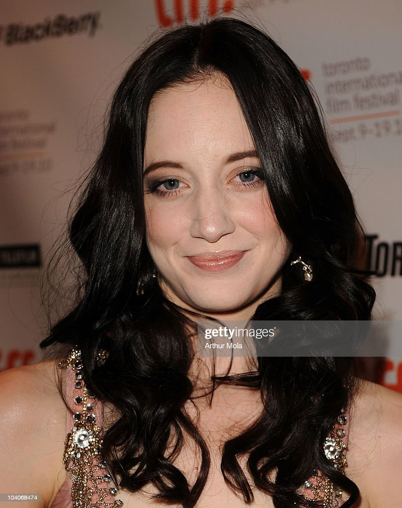 actress andrea riseborough attends the brighton rock premiere held at picture id104068474