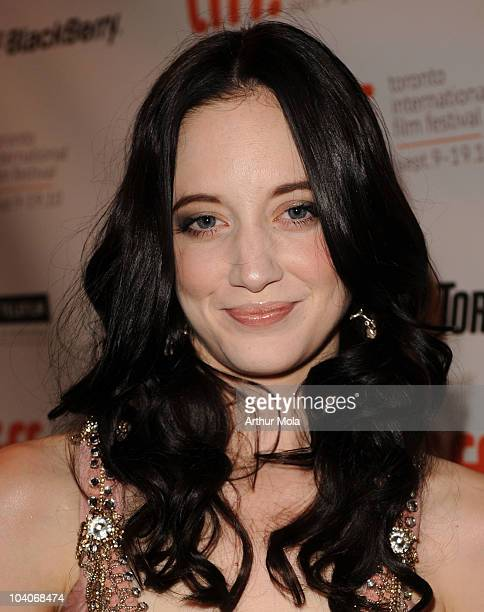 Actress Andrea Riseborough attends the 'Brighton Rock' Premiere held at the Winter Garden Theatre during the 35th oronto International Film Festival...