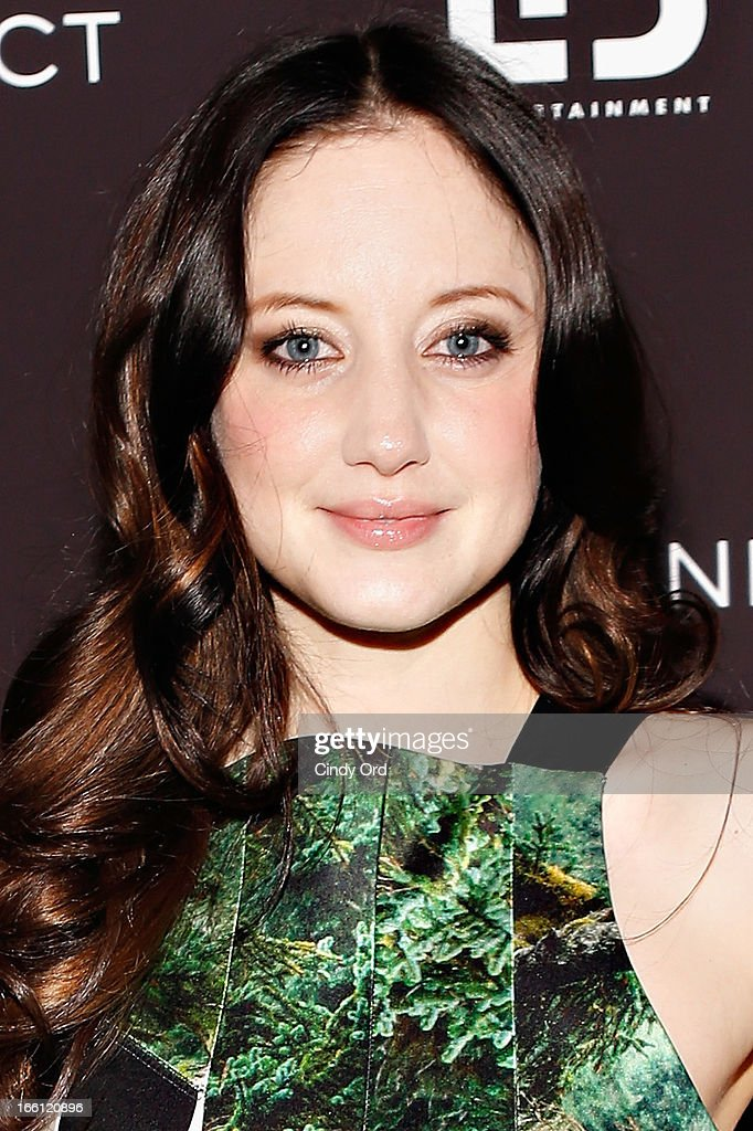 Actress Andrea Riseborough attends the 'Disconnect' New York Special Screening at SVA Theater on April 8, 2013 in New York City.
