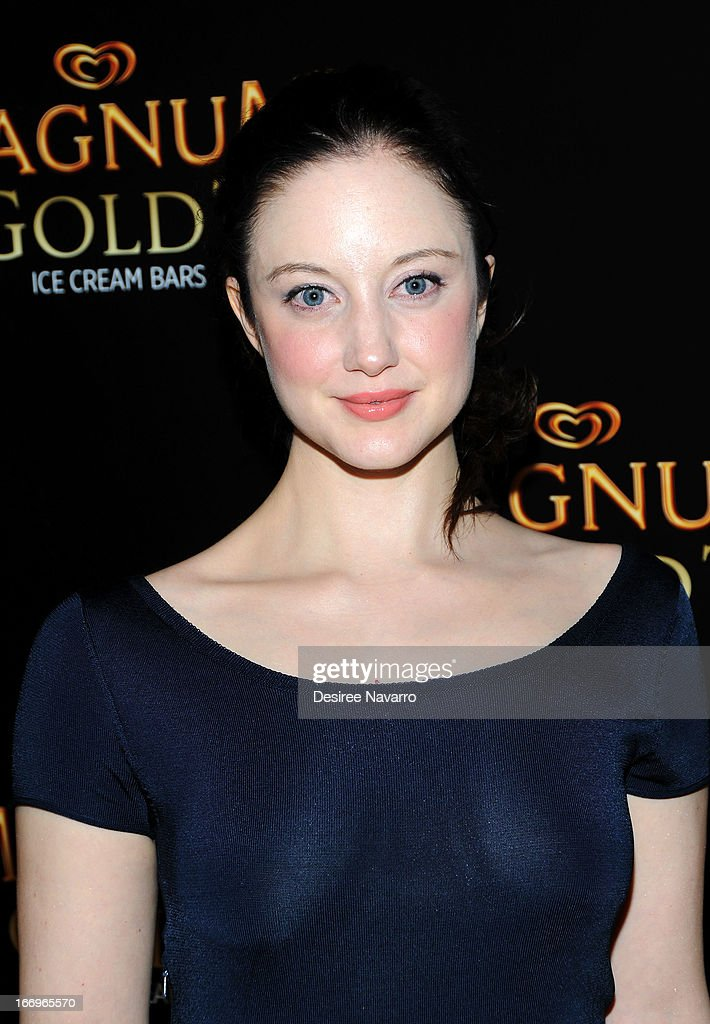 Actress Andrea Riseborough attends the screening of 'As Good As Gold' during the 2013 Tribeca Film Festival at Gotham Hall on April 18, 2013 in New York City.