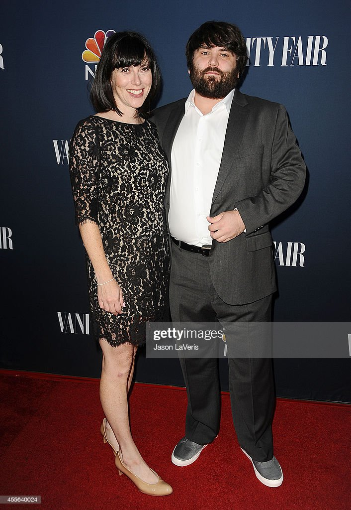 Actress Andrea Rosen and actor John Gemberling attend the NBC & Vanity Fair 2014 - 2015 TV season event at HYDE Sunset: Kitchen + Cocktails on September 16, 2014 in West Hollywood, California.