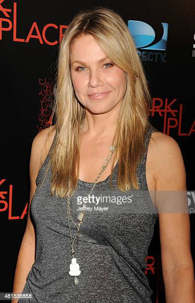 Actress Andrea Roth arrives at the Premiere Of DIRECTV's 'Dark Places' at Harmony Gold Theatre on July 21 2015 in Los Angeles California