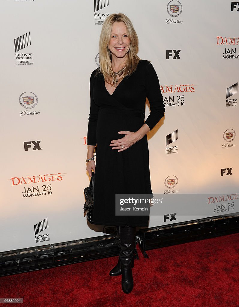 Actress Andrea Roth attends the Season 3 premiere of 'Damages' at the AXA Equitable Center on January 19, 2010 in New York City.