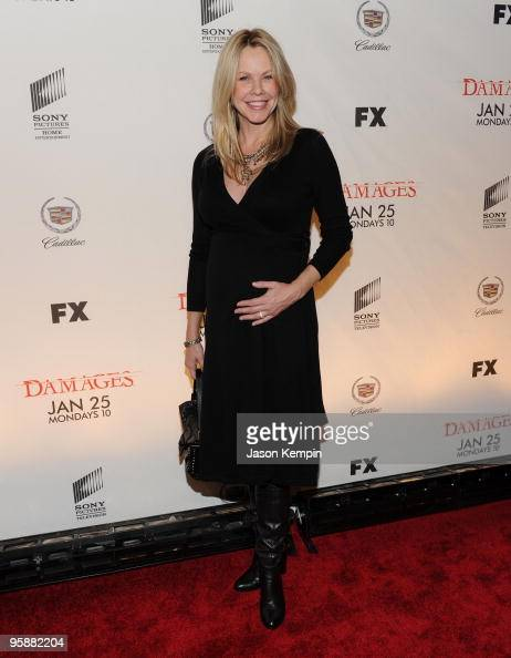 Actress Andrea Roth attends the Season 3 premiere of 'Damages' at the AXA Equitable Center on January 19 2010 in New York City