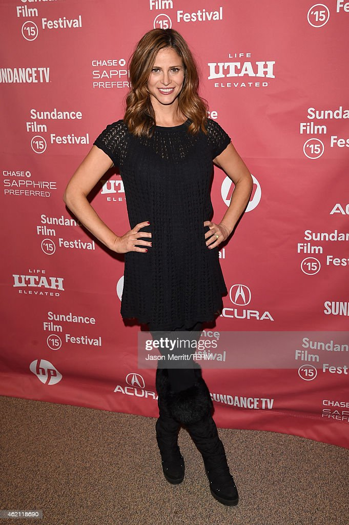 Actress Andrea Savage attends the 'Sleeping With Other People' premiere during the 2015 Sundance Film Festival on January 24, 2015 in Park City, Utah.