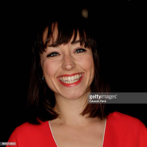 Actress Andrea Trepat attends the 'El Pelotari y la Fallera' premiere at Callao cinema on April 5 2017 in Madrid Spain